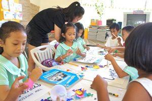 フィリピン 幼稚園ボランティア