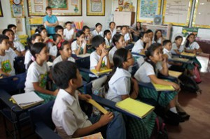 フィリピン公立小学校インターンシップのイメージ