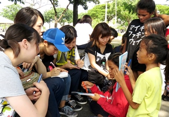 フィリピン セブ NGOソーシャルボランティア
