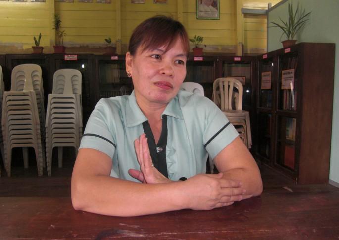 フィリピンの小学校教員