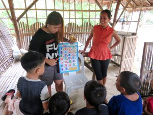 フィリピン 子ども教育ボランティア