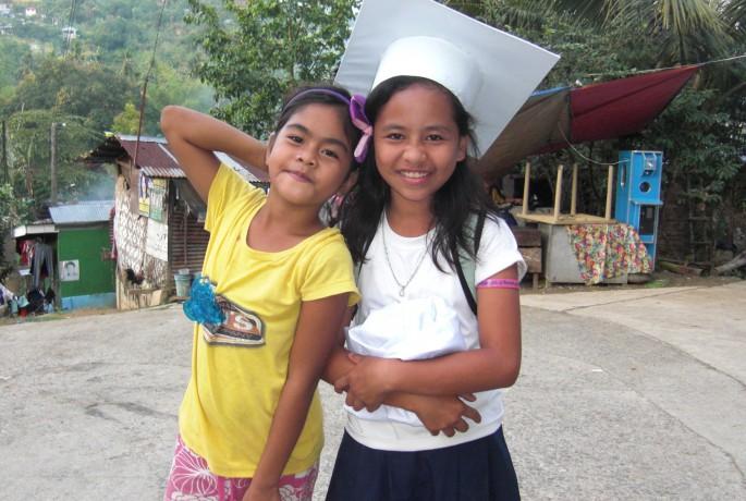 フィリピンの女の子のイメージ