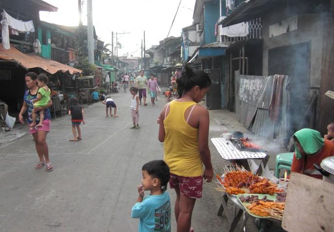 フィリピン セブの人々の暮らし