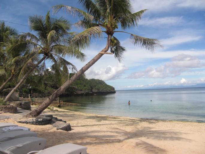 フィリピン セブ島のビーチ
