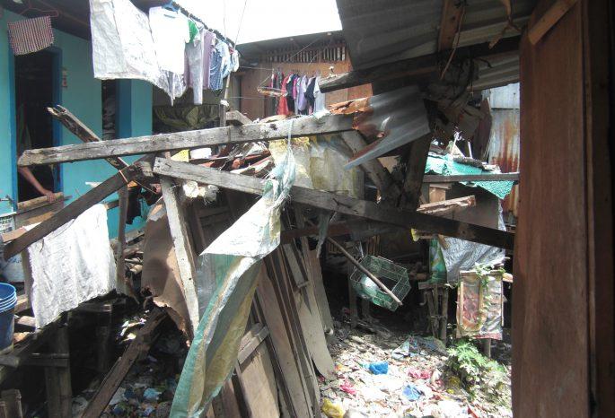 セブ島のスラム街