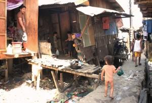 フィリピン セブのスラム街