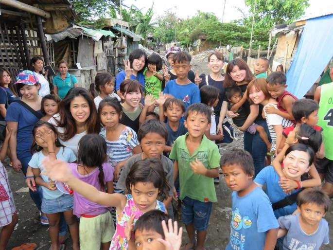 海外ボランティア体験