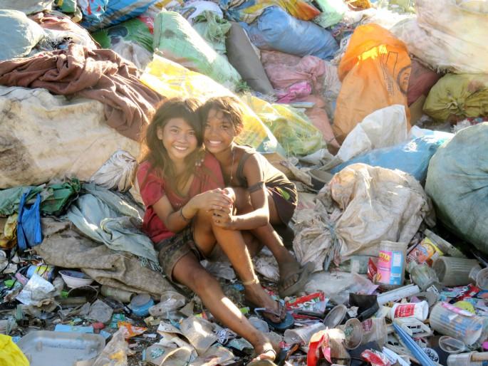 フィリピン セブのゴミ山