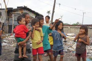 セブのゴミ山の子ども