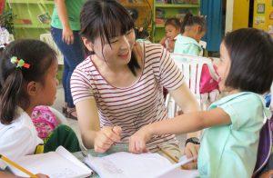 幼稚園ボランティア体験談
