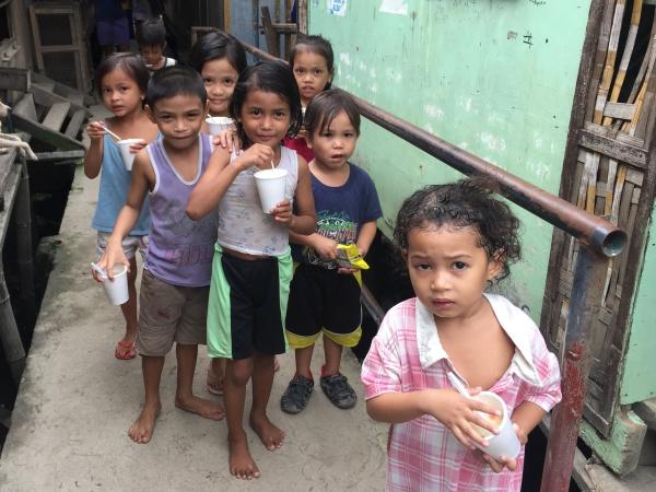 フィリピン セブのスラム
