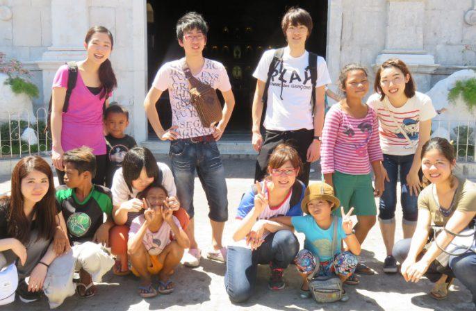 海外ボランティア参加者