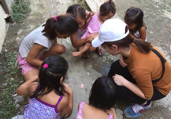 フィリピン セブ島の子どもの遊び