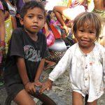 フィリピン セブのゴミ山の子ども
