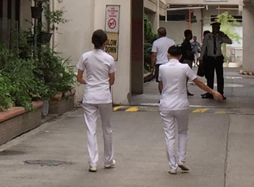 フィリピンの看護師