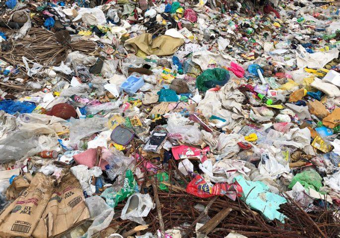フィリピンのゴミ
