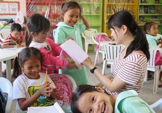 フィリピン セブ 幼稚園ボランティア