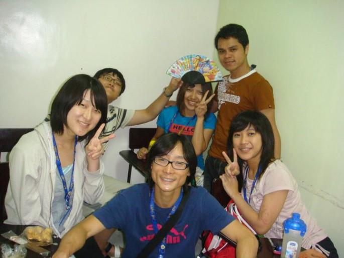 留学生のイメージ