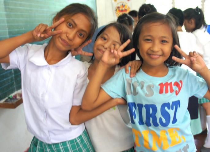 フィリピンの子供のイメージ