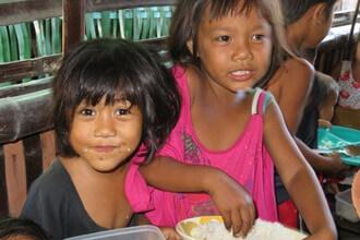 フィリピンのボランティア