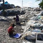 セブのゴミ山で行われているボランティア活動