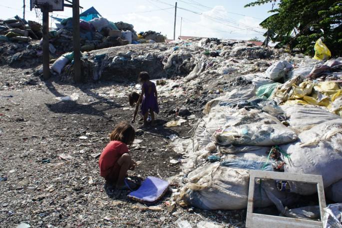 フィリピン ゴミ山の子どもたち