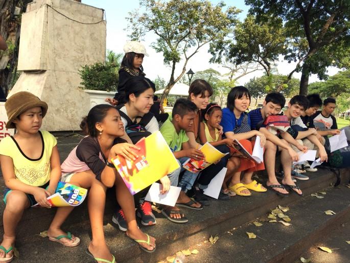 フィリピンで日本語ボランティア