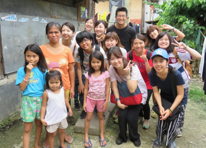 フィリピン セブのボランティア