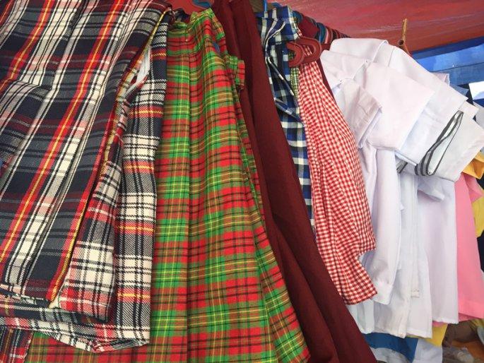 フィリピンの学生服