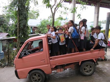小学生の通学