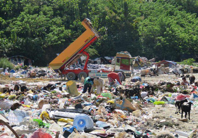 セブ島のゴミ山