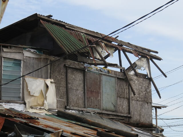 フィリピンのスラム街