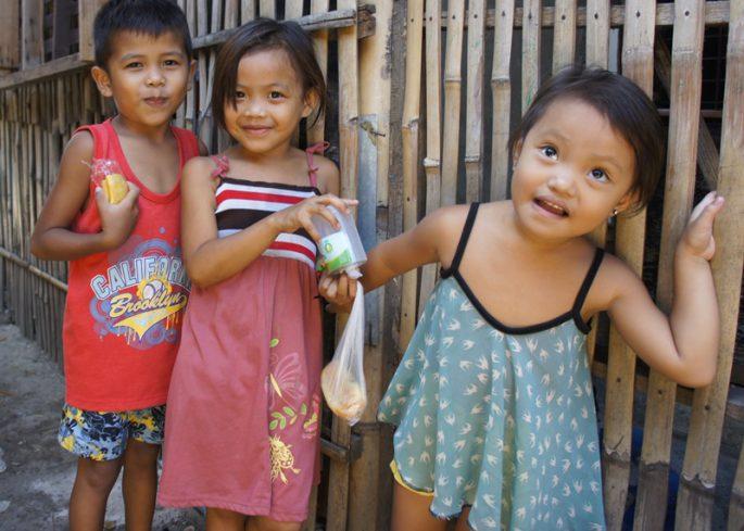 スラム街の子ども