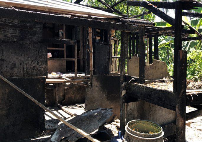 スラムの火災