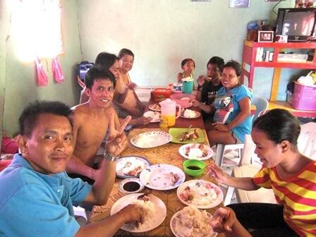フィリピン人の食事