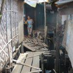 フィリピンのスラム街はいつも災害のリスクをかかえている