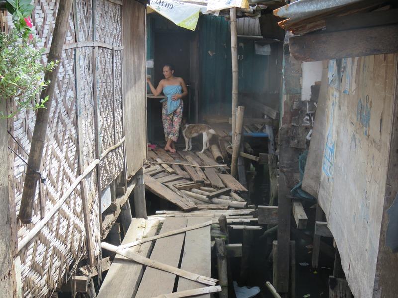 フィリピンのスラム
