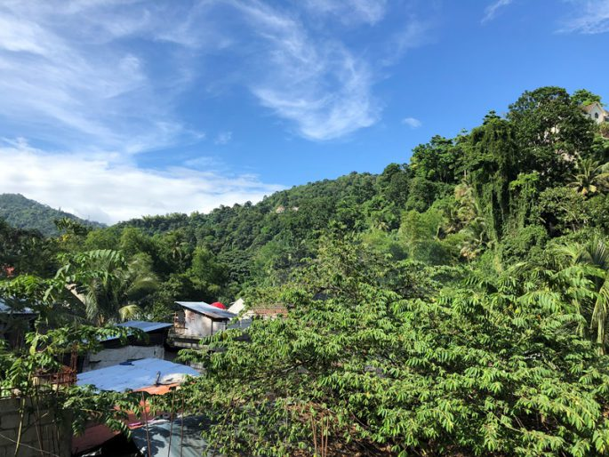 セブ島の山岳地域