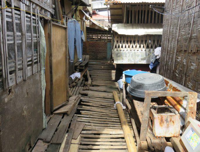 セブ島のスラム地区