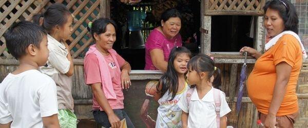 フィリピンのスクワッター地区