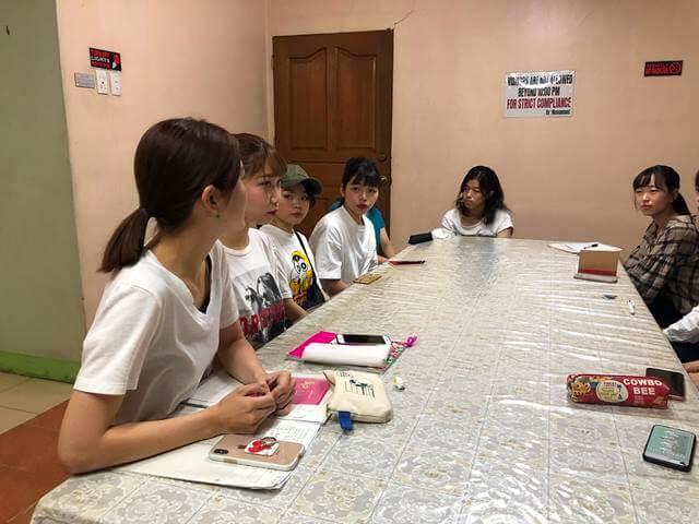 ボランティアのミーティング