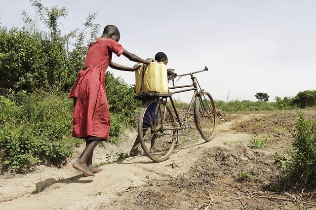 アフリカの子ども