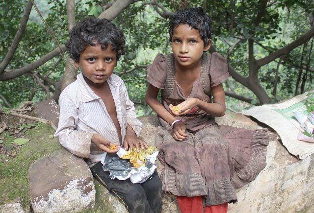 インドの子ども