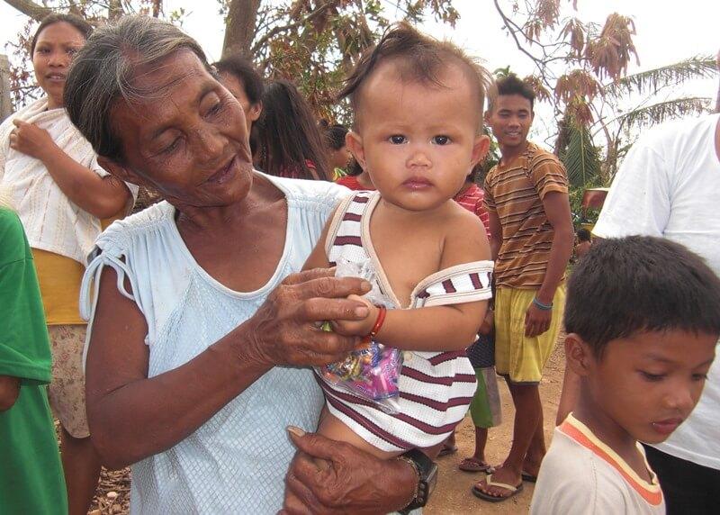 フィリピンの人道支援