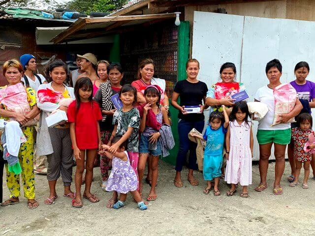 フィリピンでのボランティア活動